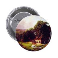 Bierstadt Albert The Old Mill Button