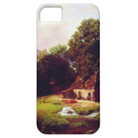 Bierstadt Albert The Old Mill iPhone 5 Cases