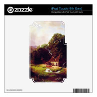 Bierstadt Albert The Old Mill Skin For iPod Touch 4G
