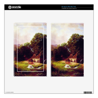 Bierstadt Albert The Old Mill Skins For Kindle Fire