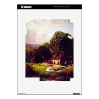 Bierstadt Albert The Old Mill Skins For The iPad 2