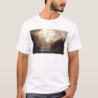 Bierstadt Among the Sierra Nevada Mountains T-Shirt