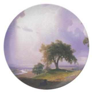 Bierstadt California Spring Plate