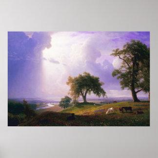 Bierstadt California Spring Poster