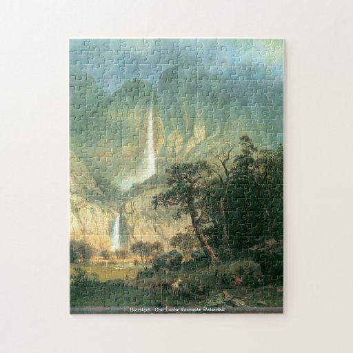 Bierstadt - Cho-Looke Yosemite Watterfall puzzle