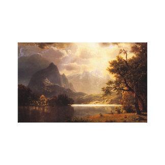 Bierstadt Estes Park Colorado Canvas Print