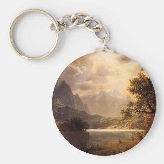 Bierstadt Estes Park Colorado Key Chain