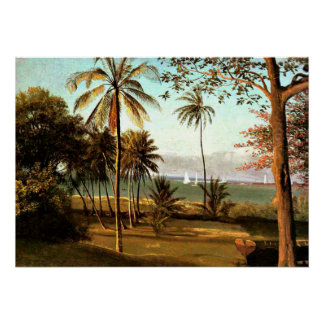 Bierstadt - Florida Scene Poster