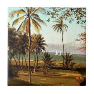 Bierstadt - Florida Scene Tile