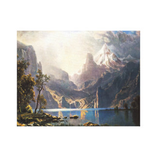 Bierstadt Lake Tahoe Stretched Canvas Prints