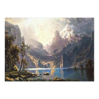Bierstadt Lake Tahoe Invitations