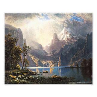 Bierstadt Lake Tahoe Photo Print