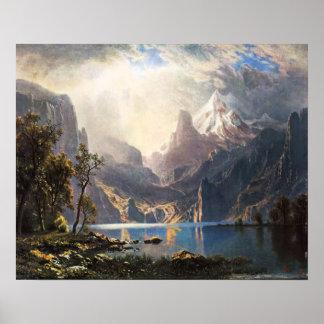 Bierstadt Lake Tahoe Poster
