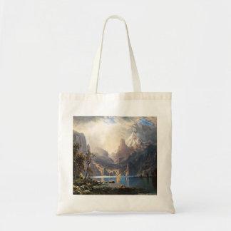 Bierstadt Lake Tahoe Tote Bag