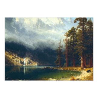 Bierstadt Mount Corcoran Invitations