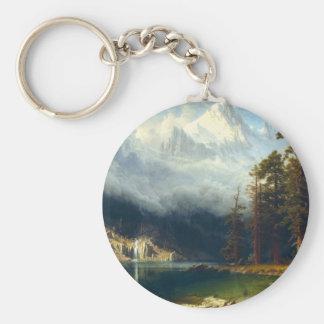 Bierstadt Mount Corcoran Key Chain