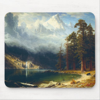 Bierstadt Mount Corcoran Mouse Pad