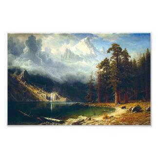 Bierstadt Mount Corcoran Photo Print