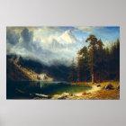 Bierstadt Mount Corcoran Poster