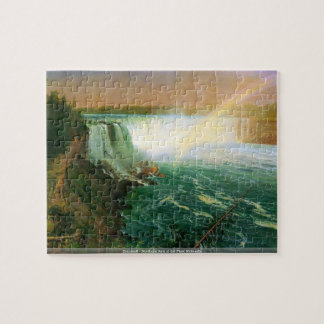 Bierstadt - Northern fork of the Plate Nebraska pu Jigsaw Puzzle