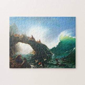 Bierstadt San Francisco Seals Puzzle