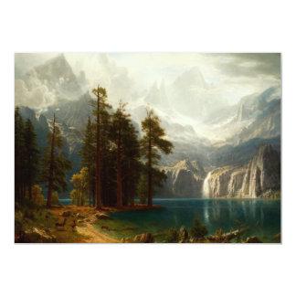 Bierstadt Sierra Nevadas Invitations