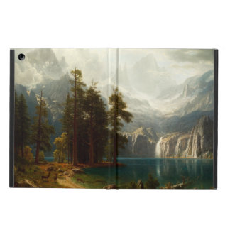 Bierstadt Sierra Nevadas iPad Case