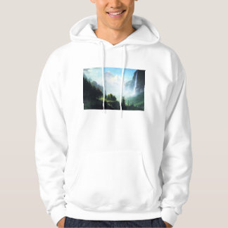 Bierstadt Staubbach Falls Hoodie