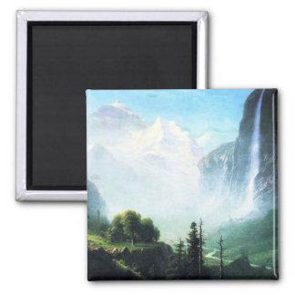 Bierstadt Staubbach Falls Magnet