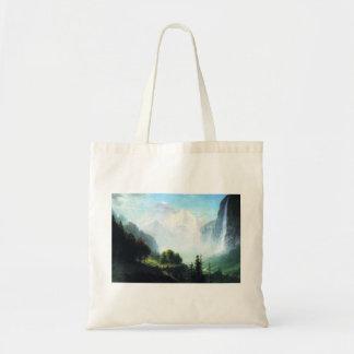 Bierstadt Staubbach Falls Tote Bag