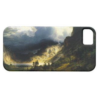 Bierstadt Storm in the Rocky Mountains iPhone 5 Case