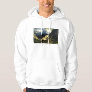 Bierstadt Storm in the Rocky Mountains Hoodie