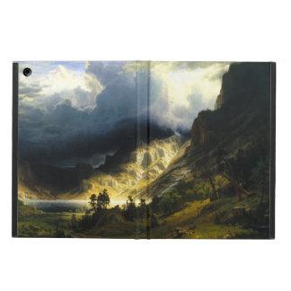 Bierstadt Storm in the Rocky Mountains iPad Case