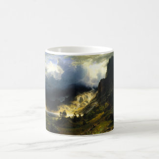 Bierstadt Storm in the Rocky Mountains Mug