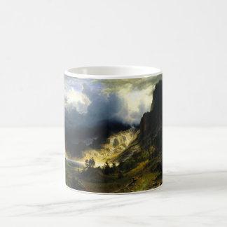 Bierstadt Storm in the Rocky Mountains Mug