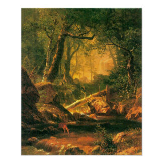 Bierstadt-White Mountains, New Hampshire 2 Poster
