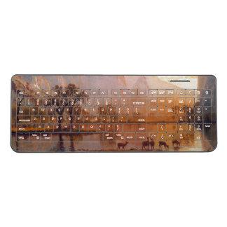 Bierstadt Yosemite Deer Lake Wireless Keyboard