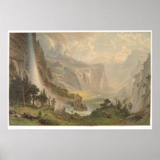 Bierstadt Yosemite Valley, California (1884A) Print