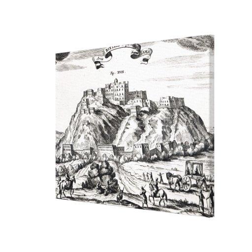 Bietala, fortaleza del lama el grande impresión en lienzo