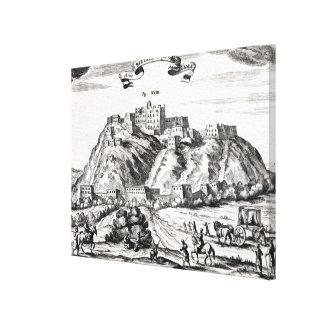Bietala, fortress of Lama the Great Canvas Print