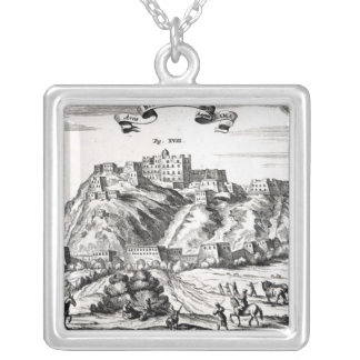 Bietala, fortress of Lama the Great Silver Plated Necklace
