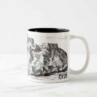 Bietala, fortress of Lama the Great Two-Tone Coffee Mug