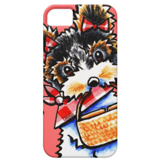 Biewer Yorkie Picnic Time iPhone 5 Cases