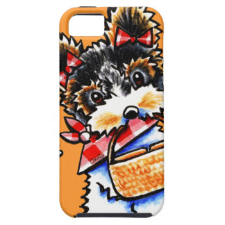 Biewer Yorkie Picnic Time iPhone 5 Cover