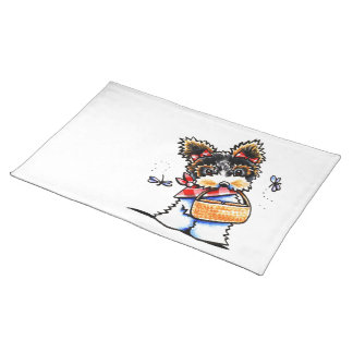 Biewer Yorkie Picnic Time Placemat