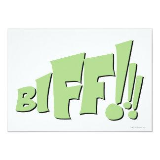 BIFF!!! CARD