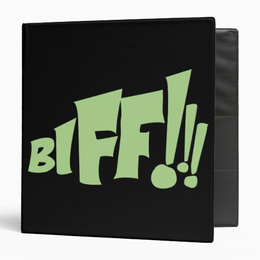 "¡BIFF!!! CARPETA 1 1/2"""