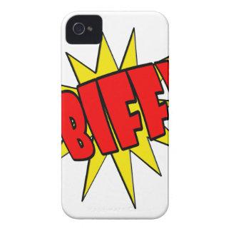 Biff Cartoon SFX iPhone 4 Case-Mate Case