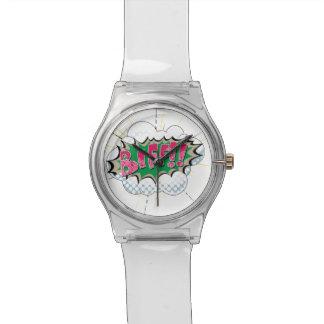 ¡Biff cómico del arte pop! Reloj