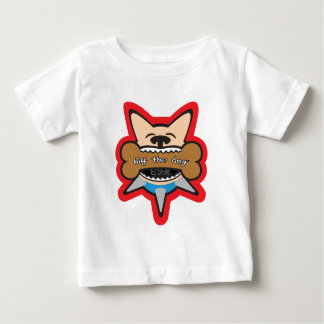 Biff Inu Bites a Bone Baby T-Shirt